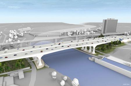 35W Bridge Rendering